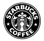Starbucks-logo-in-black-and-white