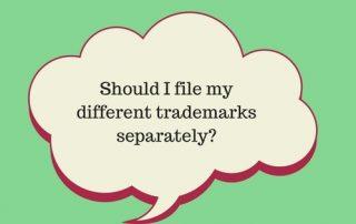 different trademarks