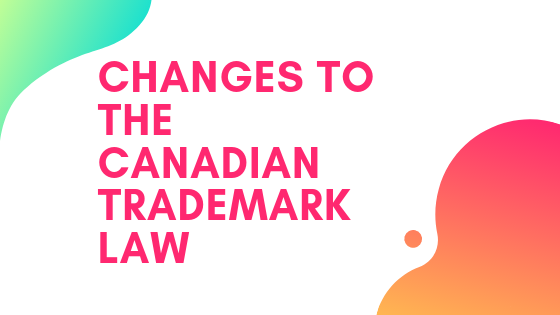 changes to trademark law