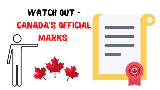 Canada's official marks